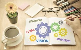 Brainstorming develop idea About topic marketing Planner and Strategy