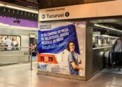 Metrô escolhe empresa para administrar sua publicidade
