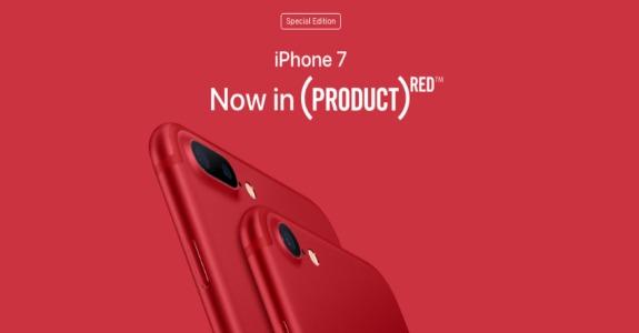Apple cria iPhone 7 vermelho em apoio ao combate do HIV