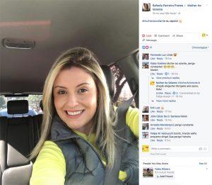 Primeira fase do projeto #MulherAoVoltante baseia-se em incentivar as mulheres a postar fotos e vídeos delas como motoristas (crédito: divulgação)