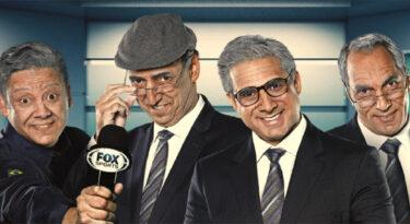 Narradores da Fox Sports envelhecem e recordam clássico