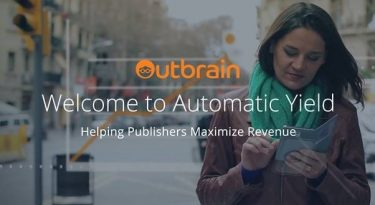 Outbrain lança Automatic Yield para publishers maximizarem sua receita