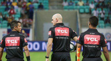 TCL renova patrocínio com árbitros da Copa do Nordeste