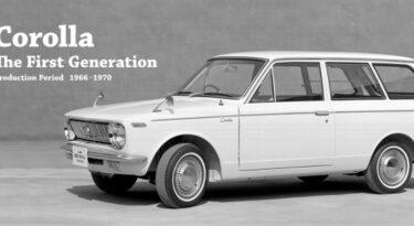 Toyota lança série comemorando os 50 anos do Corolla
