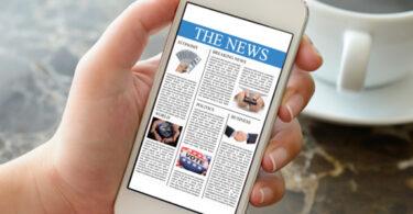 Mobile news, now
