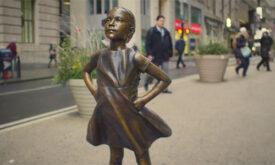 A garotinha que enfrentou Wall Street também arrasa Cannes