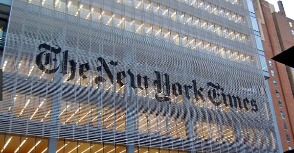 New York Times prepara série semanal para TV