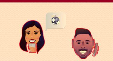 Anitta e Nego do Borel viram emojis para a Claro