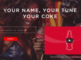 Nomes de consumidores viram jingles da Coca-Cola