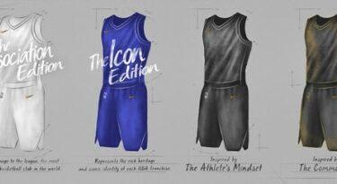 Nike apresenta seus primeiros uniformes para a NBA
