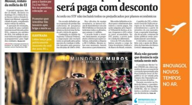 Campanha da Gol aumenta a Folha de S.Paulo