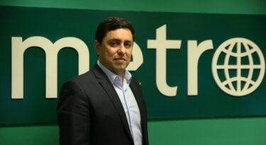 Jornal Metro tem novo diretor comercial