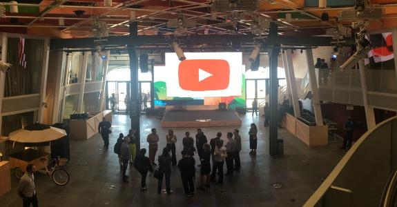 a047d994fef Google inaugura YouTube Space Rio – Meio   Mensagem