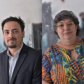 Sonia Regina Piassa e Mateus Basso