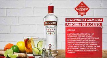 Smirnoff procura a melhor caipiroska do Brasil