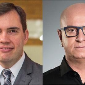 João Branco e Mário D'Andrea