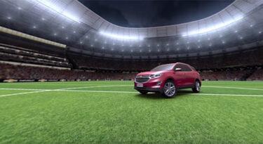 Chevrolet, Isobar e Globo levam VR ao futebol