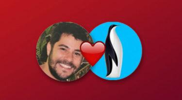 Pinguim e Evaristo Costa: a amizade evolui para publicidade