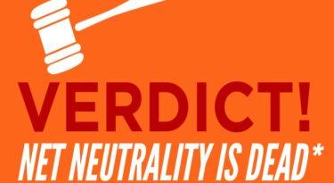 A neutralidade da rede foi pro saco.