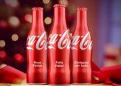 Coca-Cola vende garrafas personalizadas para fim de ano