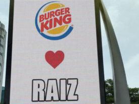 Burger King usa OOH para provocar McDonald´s