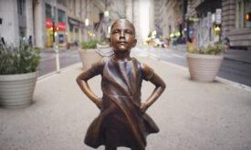 """""""Fearless Girl"""" é a grande vencedora do New York Festivals"""