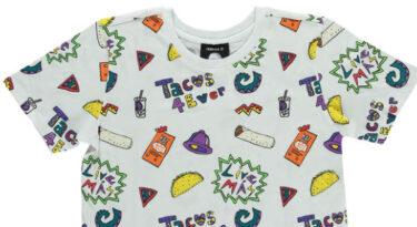 Depois dos burritos e nachos, Taco Bell aposta em tops e moletons