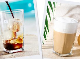 Nespresso cria casa de verão para mostrar café gelado