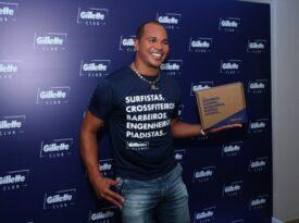 Com Aloísio Chulapa, Gillette apresenta clube de compras