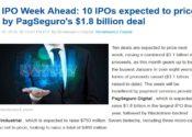 IPO do PagSeguro lidera na Nasdaq esta semana