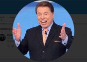 Silvio Santos cria conta no Twitter e ri do próprio SBT