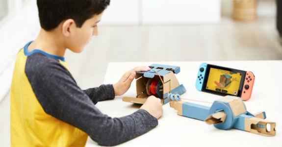A Nintendo e o valor agregado de um papelão
