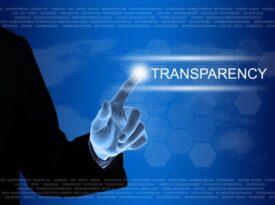 Transparência só existe com simetria de informação