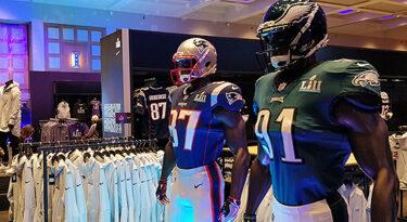 O festival de marcas na cidade do Super Bowl