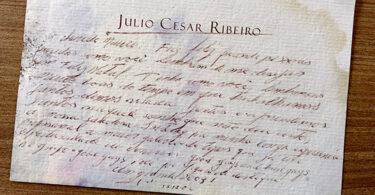 Ao mestre Julio Ribeiro, com carinho