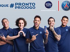Nivea estende parceria com PSG ao Brasil