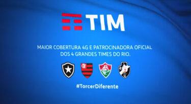 TIM renova com Botafogo, Flamengo, Fluminense e Vasco