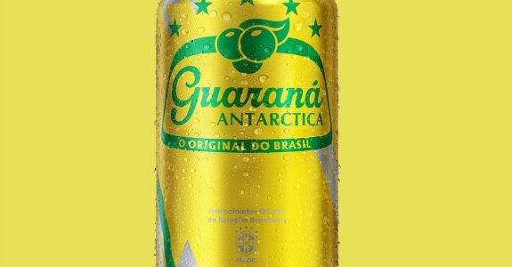 Guaraná Antarctica lança latas da Copa