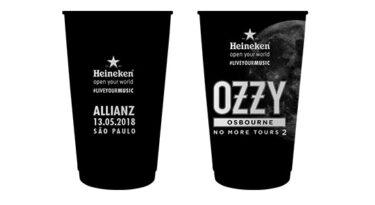 Heineken se veste de preto para homenagear Ozzy Osbourne