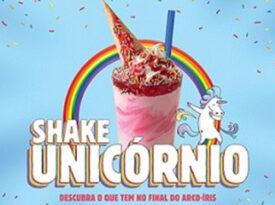 Em ação pela diversidade, Burger King lança Shake Unicórnio