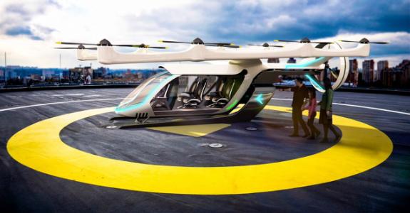 Uber apresenta protótipo de táxi aéreo com a Embraer