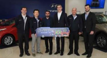 Hyundai revela frase a ser estampada no ônibus da seleção