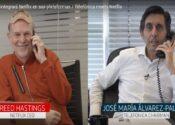 Netflix e Telefonica fecham acordo. Veja vídeo dos dois presidentes assinando o contrato.