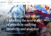 Para quem se interessou pelo tema ao lado, vale ler este artigo da McKinsey sobre criatividade e dados