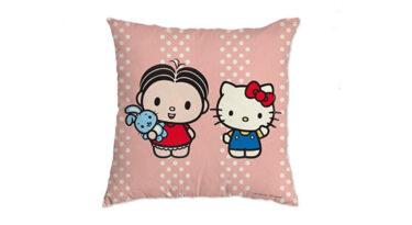 Loja virtual vende licenciados da cobranding Mônica e Hello Kitty