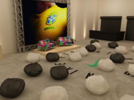 Nike inaugura espaço dedicado a futebol no Largo da Batata