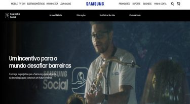 Samsung promove inclusão através da tecnologia