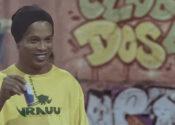 Os planos de Ronaldinho Gaúcho para o energético Vrauu