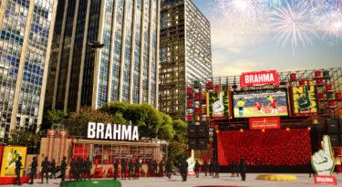 Brahma abre arena para transmissão de jogos da Copa