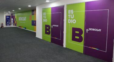 Globosat inaugura estúdios no Riocentro